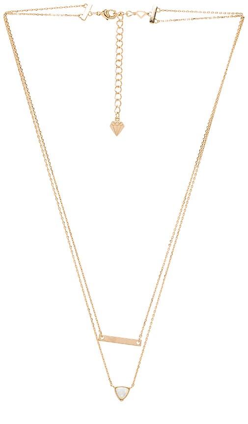 Wanderlust + Co Aurora Necklace in Gold
