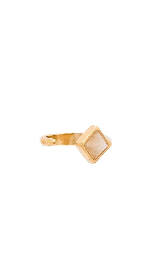 WOLF CIRCUS Illume Ring in Metallic Gold