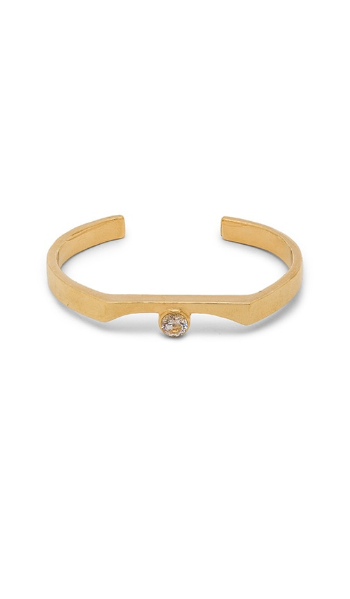 WOLF CIRCUS Pave Bracelet in Metallic Gold