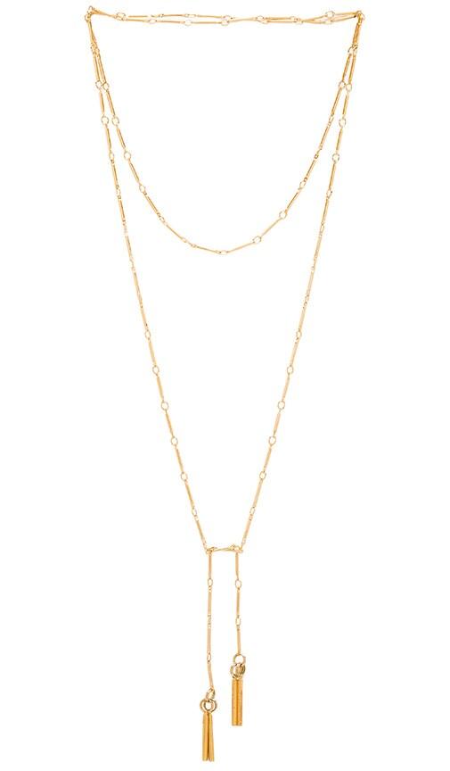 Wolf Circus Sahara Necklace in Metallic Gold NfErWvBR