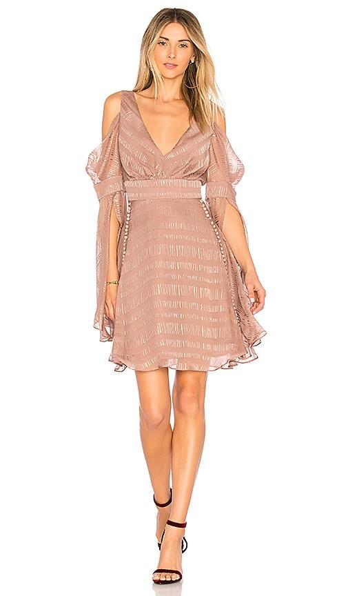 We Are Kindred Lolita Mini Dress in Brown
