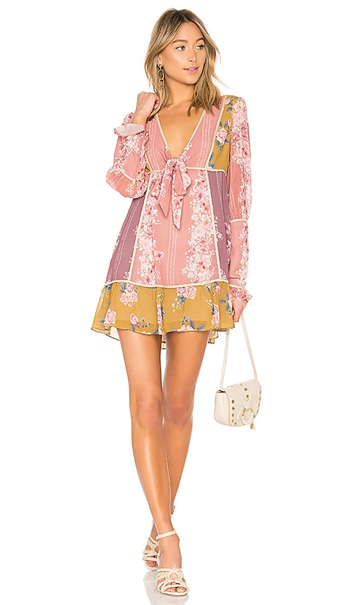 We Are Kindred Florence Mini Dress in Pink