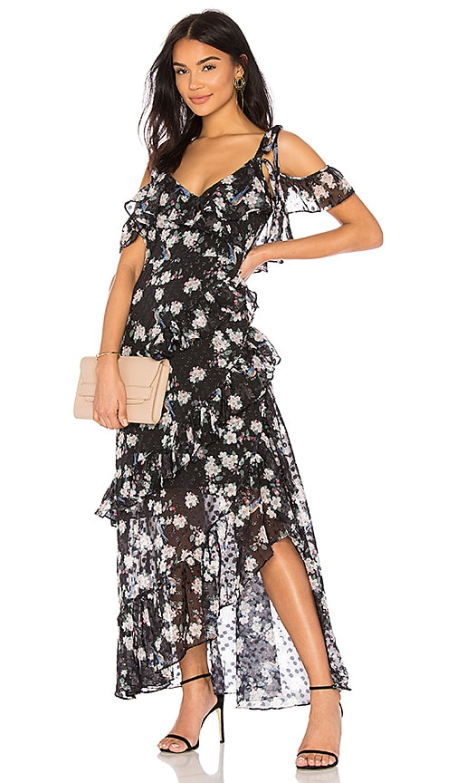 Pippa Ruffle Maxi Dress