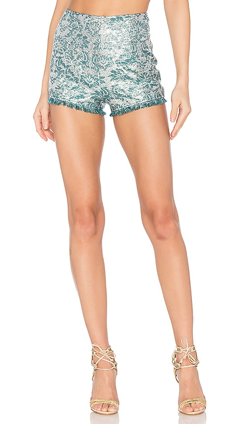We Are Kindred Sophia Hot Pant in Teal