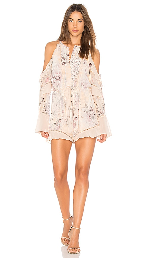 Paloma Cold Shoulder Romper