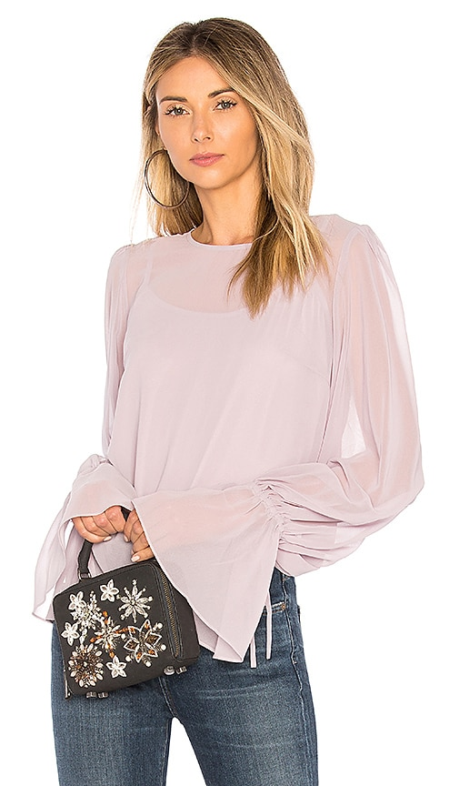 We Are Kindred Elisabetta Blouse in Lavender