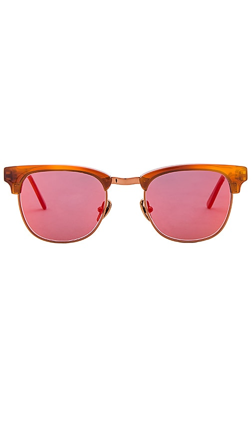 WESTWARD \\ LEANING Vanguard 10 Sunglasses in Rust
