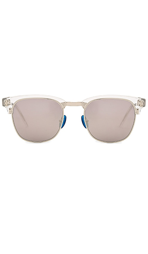 WESTWARD LEANING Vanguard Sunglasses in Metallic Silver