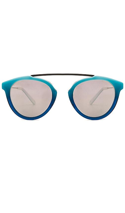 WESTWARD LEANING Flower Sunglasses in Blue
