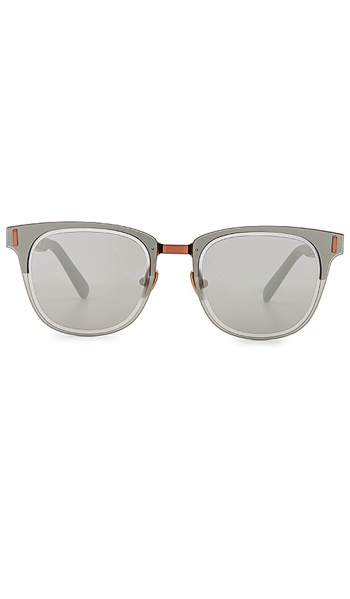 WESTWARD LEANING Mirrorcake Sunglasses in Black