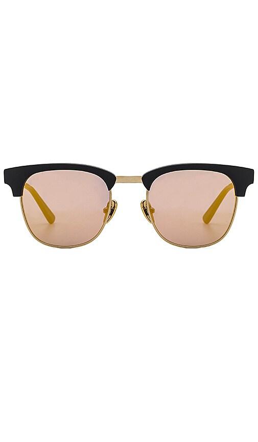 WESTWARD LEANING Vanguard Sunglasses in Black