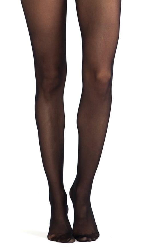 2cc25b67162 Wolford Fatal Lace 15 Seamless Tights in Black