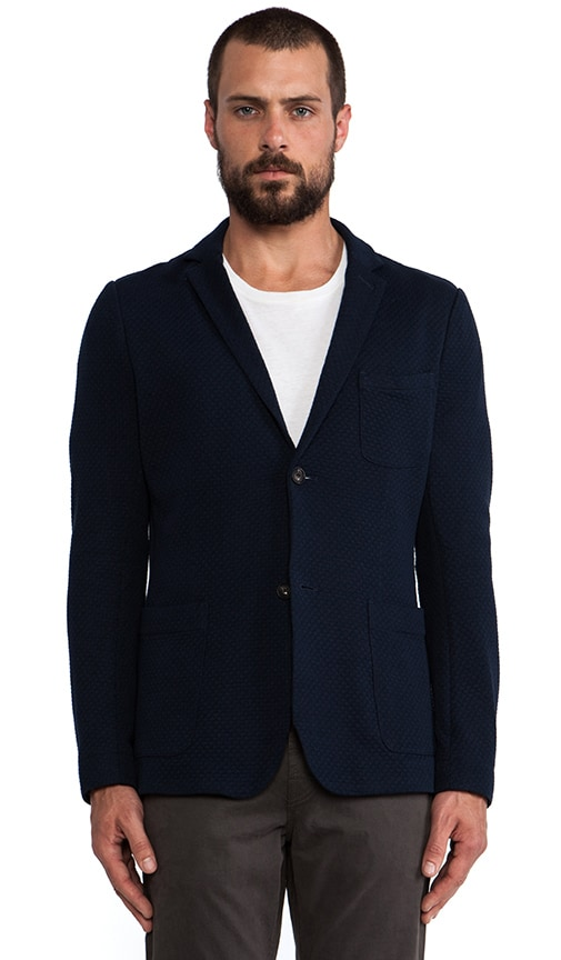 Wave Knit Blazer