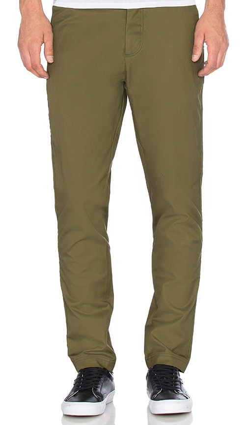 wings + horns Twill Tokyo Pant in Olive
