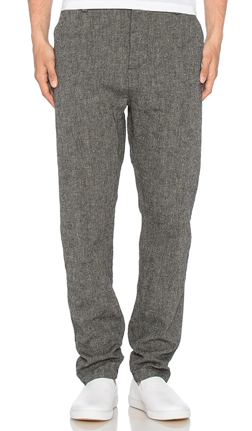 wings + horns Linen Utility Pant in Gray
