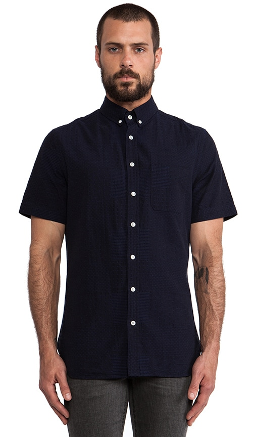 Sashiko Button Down Shirt