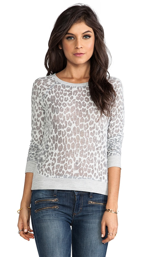 Cheetah Burnout Liam Pullover