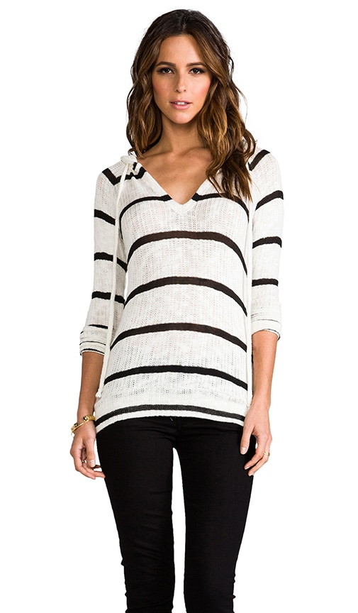 Stripe Boucle Mandy Pullover