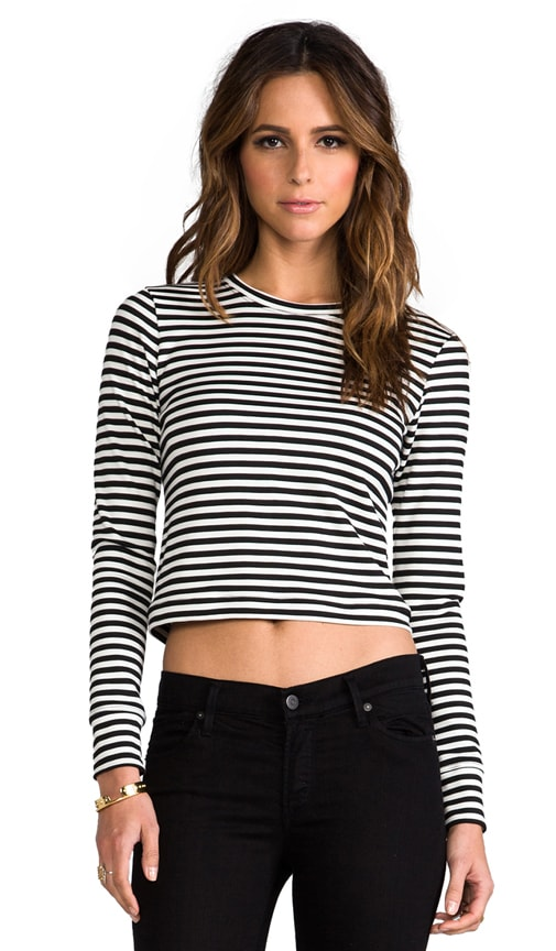Audrey Stripe Long Sleeve Tee