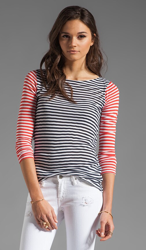 Chace Nautical Stripe Top