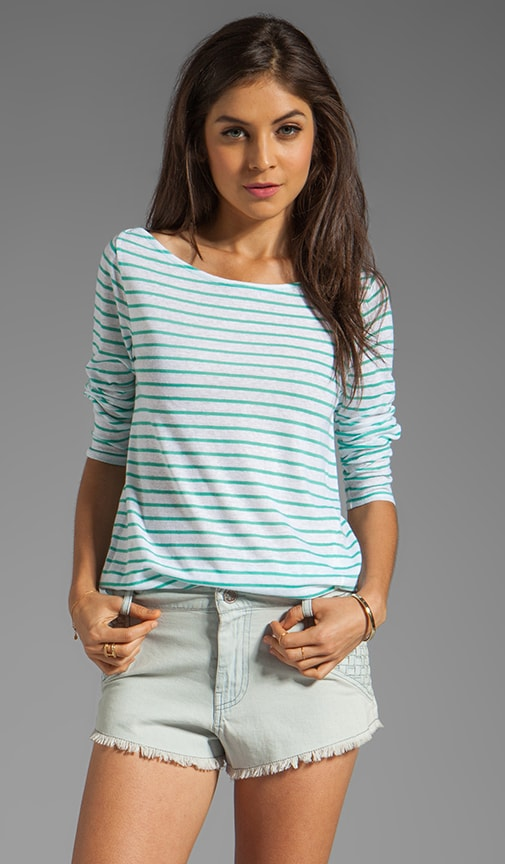 Griffin Sheer Stripe Top