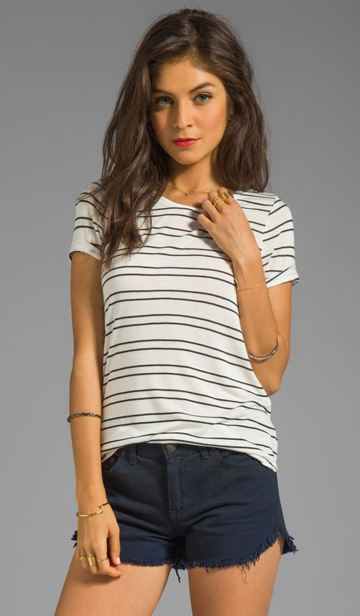 Riley Twin Stripe Top