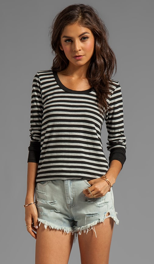 Parallel Stripe Gael Long Sleeve