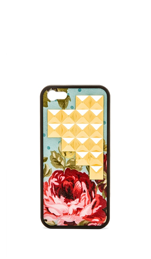 Blue Floral Iphone 5/5S Case