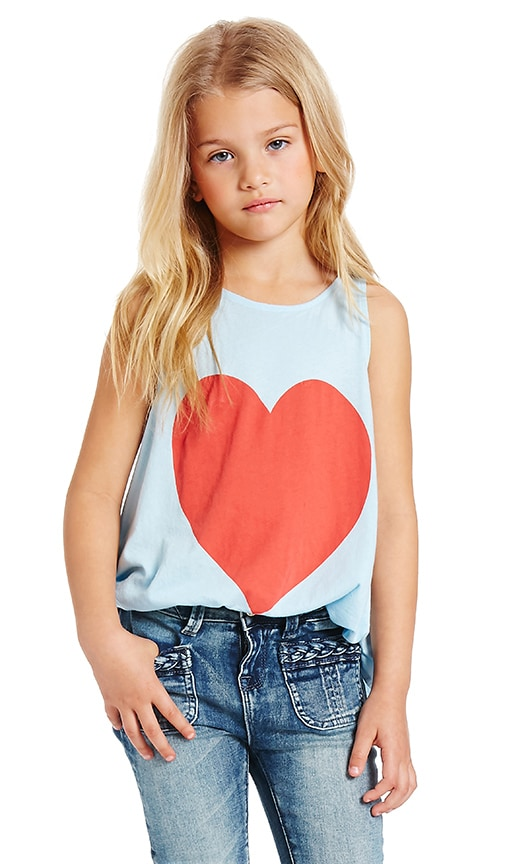 Wildfox Couture Vintage Heart Top in Jacuzzi