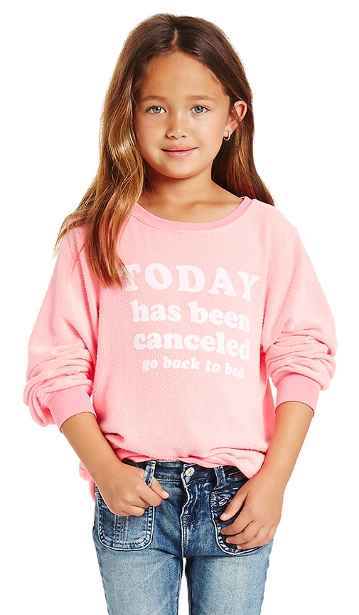 Wildfox Couture Today is Cancelled Top in Neon Sign