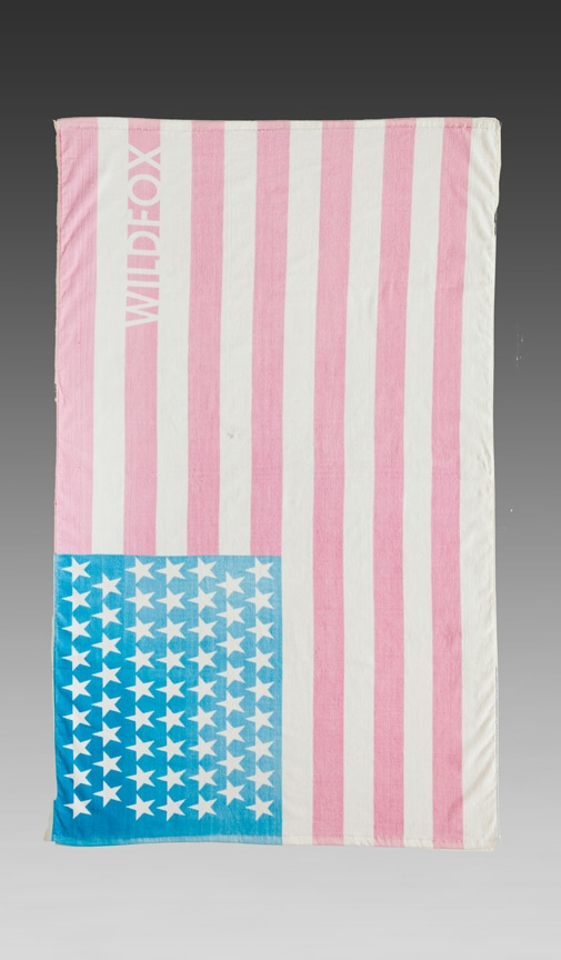 Sun Bleached Flag Towel