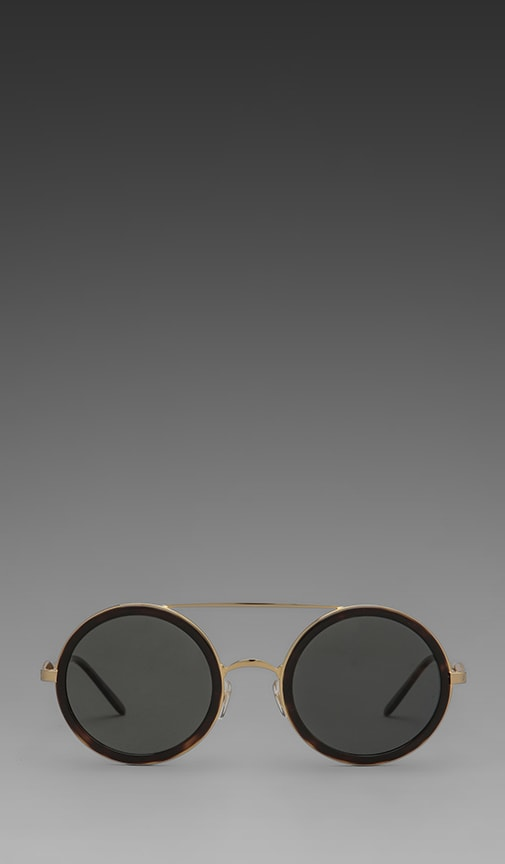 Winona Circle Frame Sunglasses