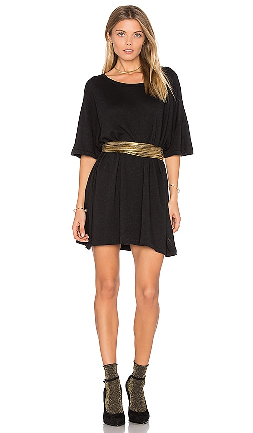 Wildfox Couture T-Shirt Dress in Black