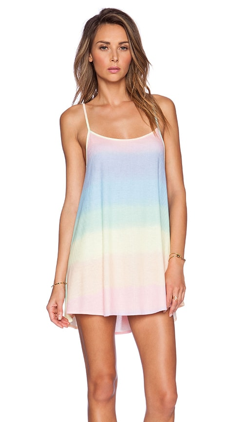 Bell's Pastel Tie Dye Beach Dress