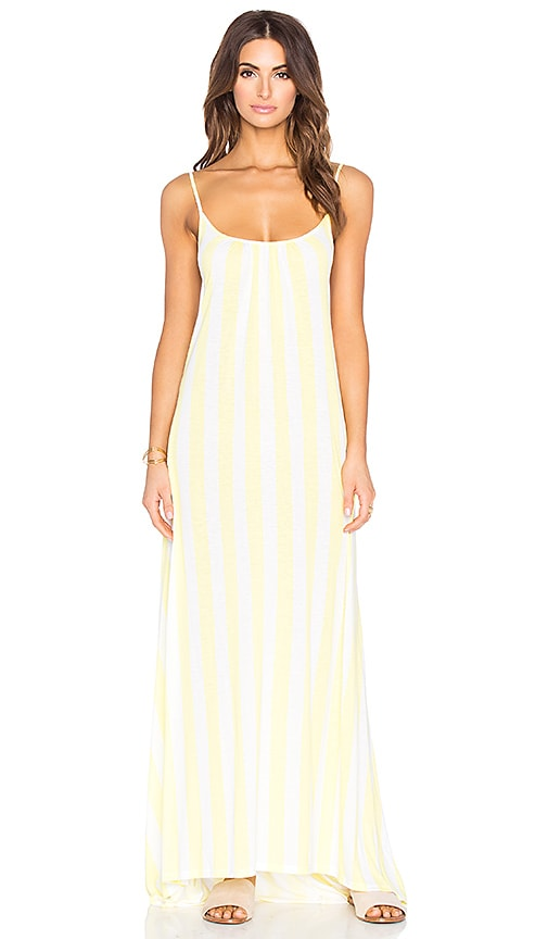 Wildfox Couture Margarette Maxi Dress in Yellow
