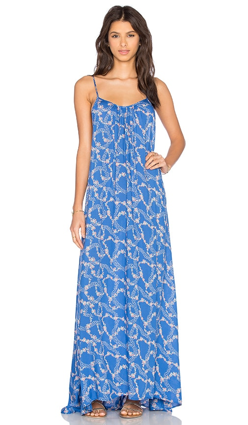 Wildfox Couture Margarette Dress in Starry Blue Floral