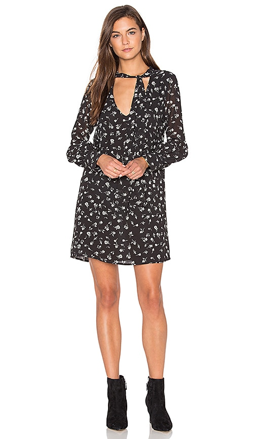 Wildfox Couture Fall Floral Mini Dress in Black