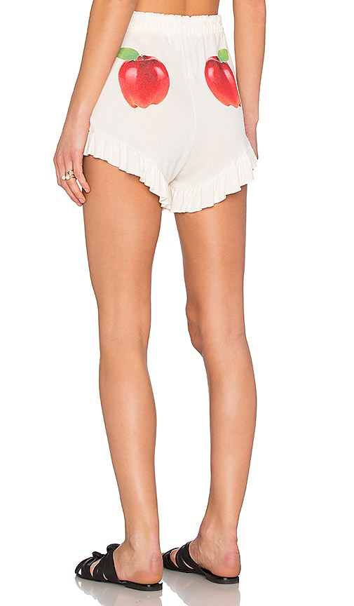 Wildfox Couture How Do You Like Them Apples Short in Pearl
