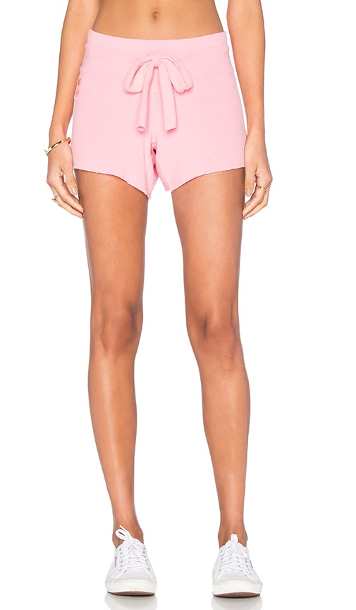 Wildfox Couture Basics Shorts in Neon Sign