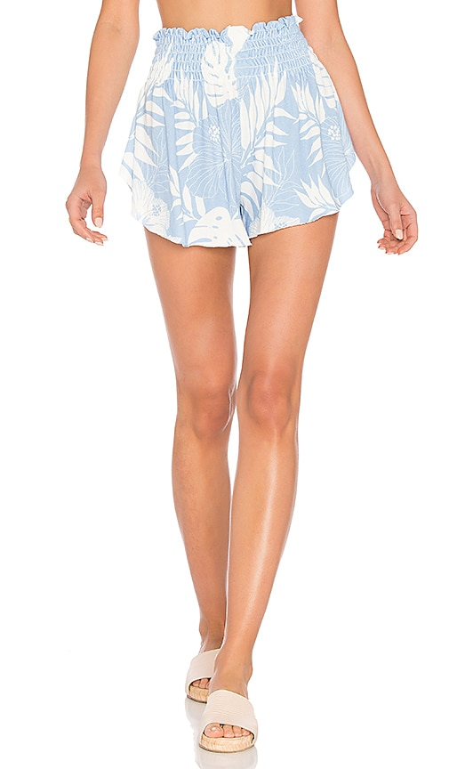 Wildfox Couture Vacay All Day Shorts in Blue