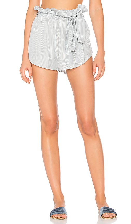 Wildfox Couture Chambray Shorts in Blue