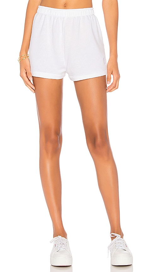 Wildfox Couture Lounge Shorts in White