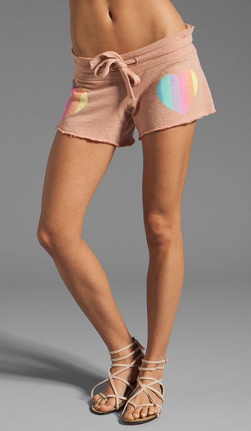Prism Heart Shorts