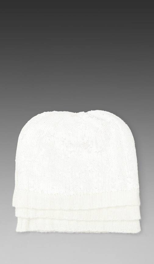 White Label Ballroom Layered Beanie