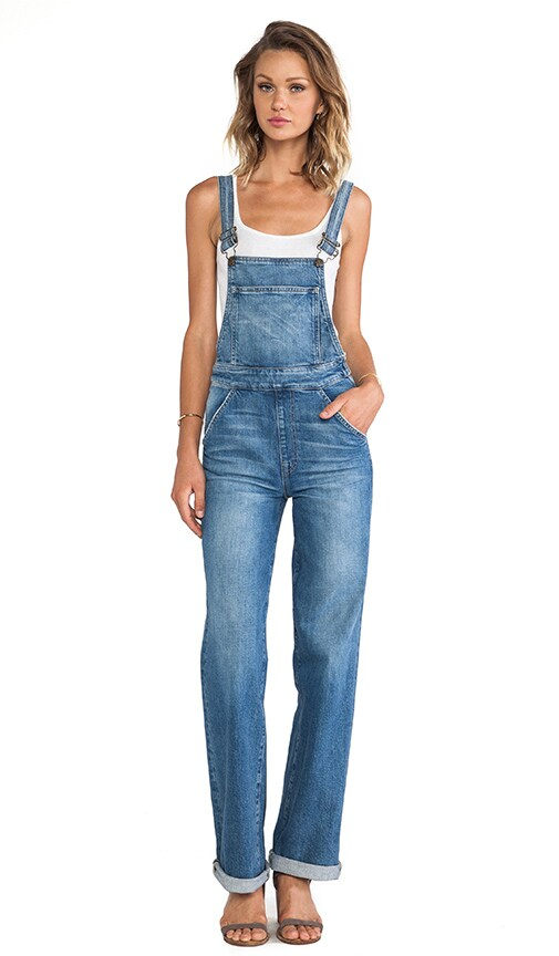 Ladonna High Rise Straight Overall