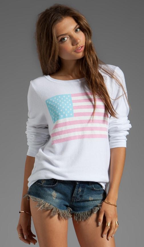Pastel America Pullover