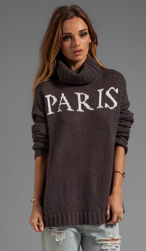White Label Paris Is Home Seatle Sweater