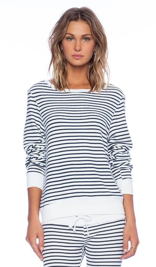 Wildfox Couture x REVOLVE Baggy Beach Jumper in White