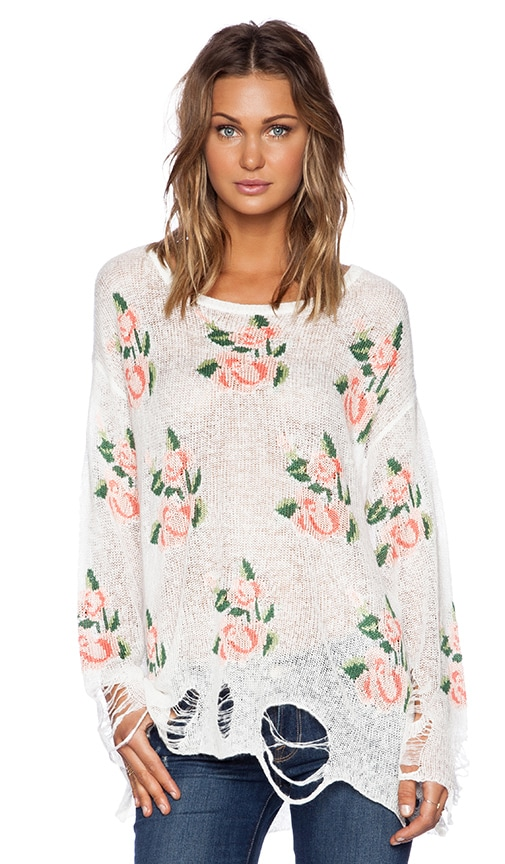 Prairie Rose Sweater