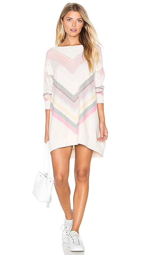 Wildfox Couture Chevron Dreams Sweater in Cream